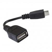 Дата кабель USB 2.0 AF to micro B 5P GEMIX (Art.GC 1651)