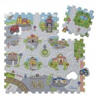 Детский коврик Chicco Мозаика Город (07163.00)