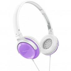 Наушники Pioneer SE-MJ502 White/Violet (SE-MJ502-V)