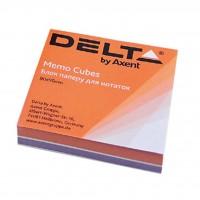 """Бумага для заметок Delta by Axent """"COLOR"""" 80Х80Х20мм, glued (D8022)"""