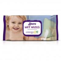 Влажные салфетки Libero Wet Wipes 64 шт (7322540350470)