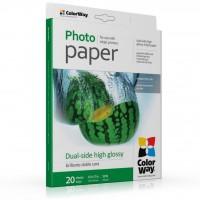 Бумага ColorWay Letter (216x279mm) high glossy, dual-side (PGD220020LT)