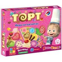 Настольная игра Vladi Toys Торт (рус. язык) (VT3003-01)