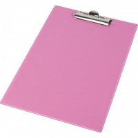 Клипборд-папка Panta Plast А4, PVC, pink (0315-0002-30)