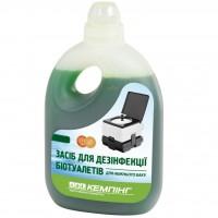 Средство для дезодорации биотуалетов КЕМПІНГ для нижнего бака 1л (4823082702190)