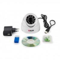 Комплект видеонаблюдения ALFA Agent 1 White