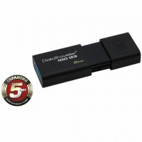 USB флеш накопитель Kingston 8Gb DataTraveler 100 Generation 3 USB3.0 (DT100G3/8GB)