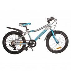 """Велосипед Lerock RX20 20"""" silver/blue (RA-43-103)"""