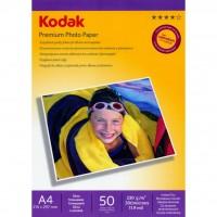 Бумага Kodak A4 Premium Photo Paper - Gloss 230gsm 50л (5740-811)