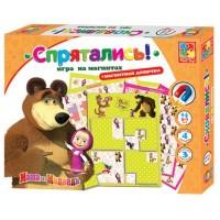 Настольная игра Vladi Toys Спрятались Маша и Медведь (рус. язык) (VT3304-09-2)