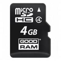 Карта памяти GOODRAM 4GB microSD Class 4 (M400-0040R11)