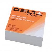 Бумага для заметок Delta by Axent білий 80Х80Х20мм, unglued (D8001)