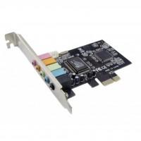 Звуковая плата Manli M-CMI8738-PCI-E-4ch bulk