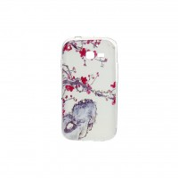 Чехол для моб. телефона для Samsung Galaxy S7262 (White) Cristall PU Drobak (216096)