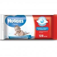 Влажные салфетки Huggies Classic Duo 128 шт (5029053561103)