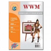 Бумага WWM A4 Fine Art (GL200.10)