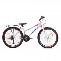 "Велосипед Premier Dallas 26 16"" matt white/neon red (SP0001492)"