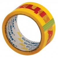 "Скотч BUROMAX Packing tape 48мм x 45м х 40мкм, yellow ""АКЦІЯ"" (BM.7541)"