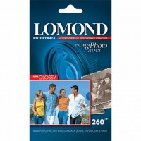 Бумага Lomond 10х15 Photo Paper SuperGlossy 260 (1103104)