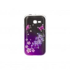 Чехол для моб. телефона для Samsung Galaxy S7262 (Violet/Black) Cristall PU Drobak (216099)