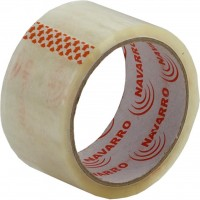Скотч NAVARRO Packing tape 48мм x 50yards х 40мкм, clear (nr.45400)