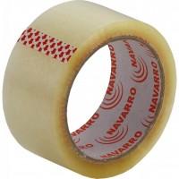 Скотч NAVARRO Packing tape 48мм x 100yards х 40мкм, clear (nr.90400)