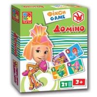 Настольная игра Vladi Toys Фиксики домино (укр. язык) (VT2107-01-1)