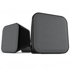 Акустическая система Speedlink SNAPPY Stereo Speakers, black-grey (SL-810002-BKGY)