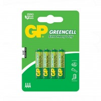 Батарейка GP AAA R03 солевая * 4 (24G-U4 / GP24G-2UE4)