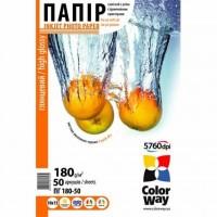 Бумага ColorWay 10x15 (ПГ180-50) (PG1800504R)