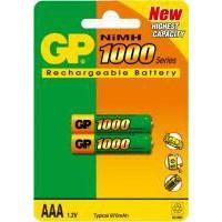 Аккумулятор AAA R3 1000mAh 2шт. GP (100AAAHC)