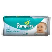 Влажные салфетки Pampers Baby Fresh Clean 64шт (4015400439110)