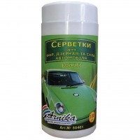 Салфетки Arnika for car tub-100pcs (50401)