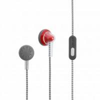 Наушники Optima EM-100 with mic Red (46110)