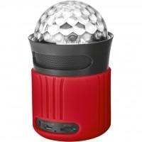 Акустическая система Trust Dixxo Go Wireless Bluetooth Speaker with party lights - red (21346)