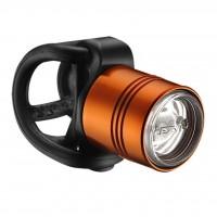 Фонарь велосипедный Lezyne LED FEMTO DRIVE FRONT оранжевый (4712805 980482)