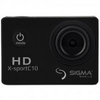 Экшн-камера Sigma Mobile X-sport C10 black (4827798324226)