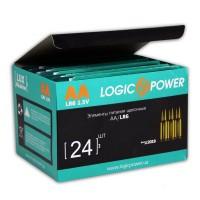 Батарейка LogicPower AA LR6 * 2 (3162)
