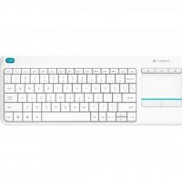 Клавиатура Logitech K400 Plus white (920-007148)