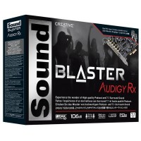 Звуковая плата CREATIVE Sound Blaster Audigy Rx (70SB155000001)