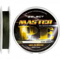 Шнур Select Master PE 100m 0.12мм 15кг темн.-зел. (1870.01.43)