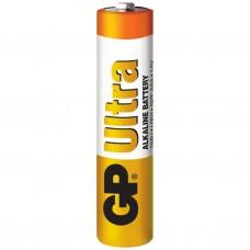 Батарейка GP AAA LR03 Ultra Alcaline * 1 (отрывается) (24AU-UR5)