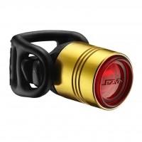 Фонарь велосипедный Lezyne LED FEMTO DRIVE REAR золотой (4712805 980505)