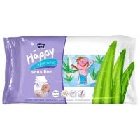 Влажные салфетки Bella Baby Happy Sensetive Aloe Vera 56 шт (5900516421151)