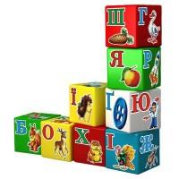 Развивающая игрушка Технок Кубики Азбука Радуга 9 шт (укр. яз) (1806)