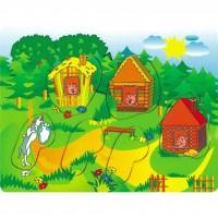 Развивающая игрушка Мир деревянных игрушек Три поросенка 2 (Р 38)