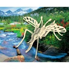 Сборная модель Мир деревянных игрушек Москит (Е020)