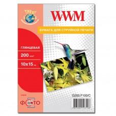 Бумага WWM 10x15 (G200.F5/C)