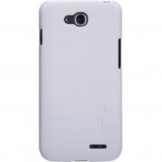 Чехол для моб. телефона NILLKIN для LG L90/D410 /Super Frosted Shield/White (6147147)