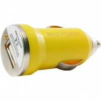 Зарядное устройство MaxPower Mini 1A Yellow (33839)